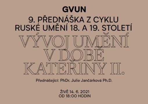 Cyklus přednášek oruském umění 18. a19. stol